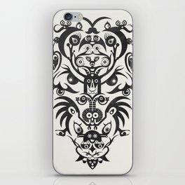 Wild Vision -Black iPhone Skin