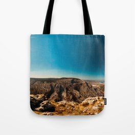 Sunny day in Val Rosandra Tote Bag