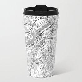 Gothenburg Map Line Travel Mug