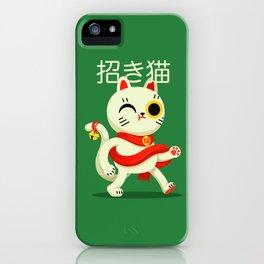 Maneki-neko iPhone Case