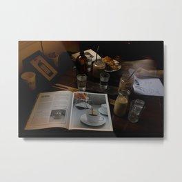 Cafe Hoping Metal Print