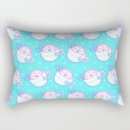 Owl Tea Rectangular Pillow