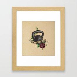 Kettlebabe. Framed Art Print