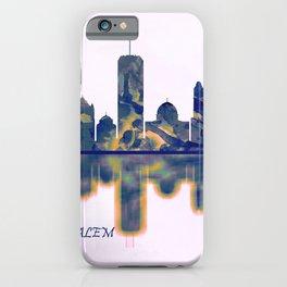 Jerusalem Skyline iPhone Case