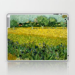 Vincent Van Gogh - Field with flowers near Arles Laptop & iPad Skin