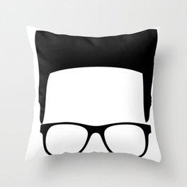 High Top Fade Throw Pillow