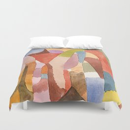 Vaulted Chambers Duvet Cover