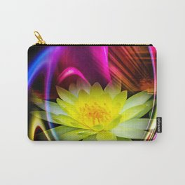 Flower Magic -Water lily Carry-All Pouch