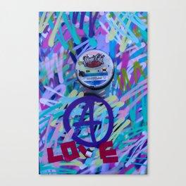 Love & Wynwood Canvas Print