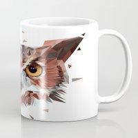 hunter Mugs featuring Hunter by Jordan Smith