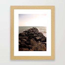 Pierpont Beach Framed Art Print