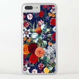 Night Garden XXXV Clear iPhone Case