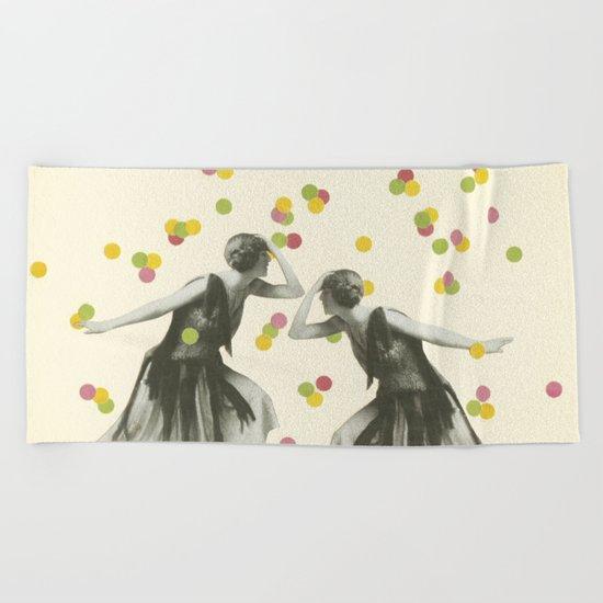 Dance : Gemini Beach Towel