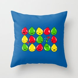 It's All Fun and Games, Until... Throw Pillow
