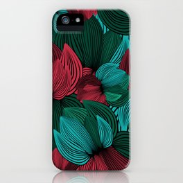 Big Flowers iPhone Case