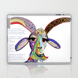 The Goat and the Leopard Laptop & iPad Skin