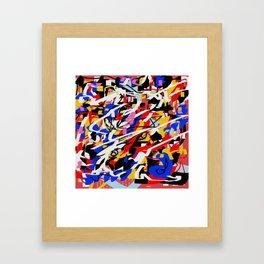 Color and color 2 Framed Art Print