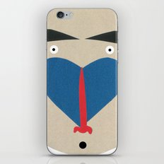 Baboon iPhone & iPod Skin