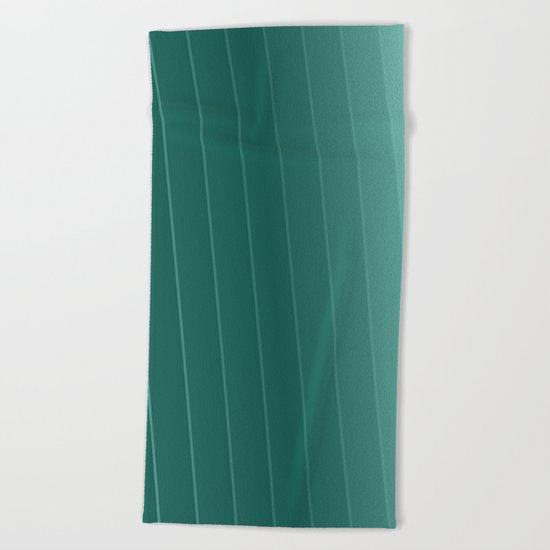 green lines Beach Towel