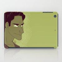 scott pilgrim iPad Cases featuring Scott by The Art of Nicole