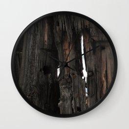 Sun  Decayed Corral, Angle 4 Wall Clock