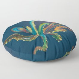 Colorful Octopus Floor Pillow