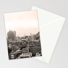 Lower East Side Skyline #1 Stationery Cards
