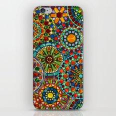 Cheerful Circles iPhone Skin