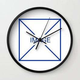 UX / UI No Image Wall Clock