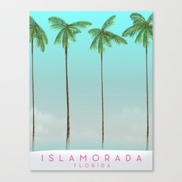 Islamorada Florida vacation print Canvas Print