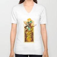 legend of zelda V-neck T-shirts featuring Legend of Zelda by bozrat