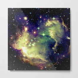 Nebula Galaxy (deep pastels) Metal Print