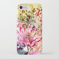 aelwen iPhone & iPod Cases featuring waterlily by clemm