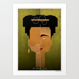 020_frida Art Print