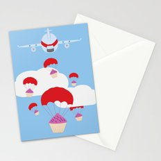 operation cupcake Stationery Cards