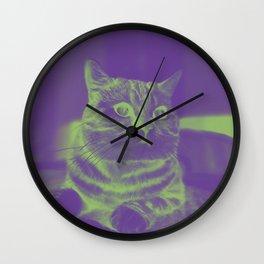 mystic cat Wall Clock