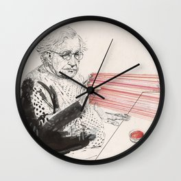 Chomsky can blast it out at will Wall Clock