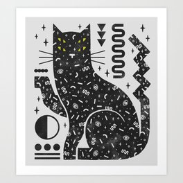 Magic Cat Art Print