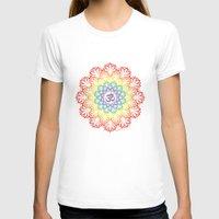 plain T-shirts featuring Namaste Lotus (Plain) by artsytoocreations