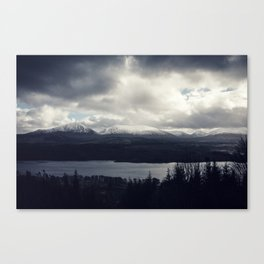 Late Winter in the Trossachs Canvas Print