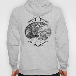the fox and the crow Hoody