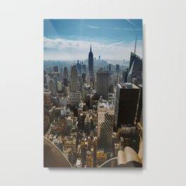 nyc cityscape views Metal Print