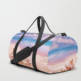 Seashells on the beach Duffle Bag