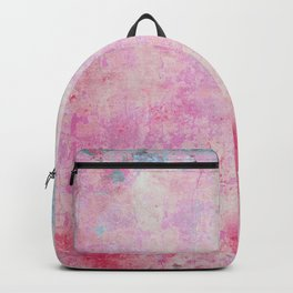 abstract vintage wall texture - pink retro style background Backpack