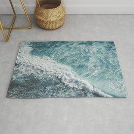 Saltwater Feelings Ocean Surf Rug