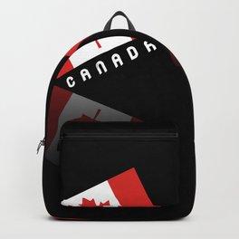 Elegant Maple Leaf Canada Backpack
