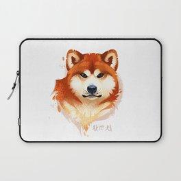 Akita Stylistic Portrait Laptop Sleeve