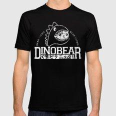 Vintage Dinobear Mens Fitted Tee Black MEDIUM