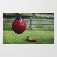 boxing Area & Throw Rugs featuring Boxing 101 by Starr Cuevas Photography