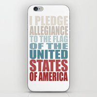 america iPhone & iPod Skins featuring America by Jason Michael